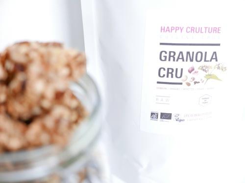 Granola cru activé Happy Crulture