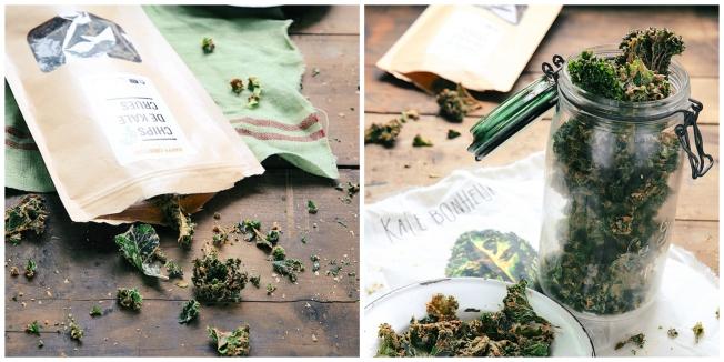 Chips de kale Happy Crulture ©Ellen Fremont