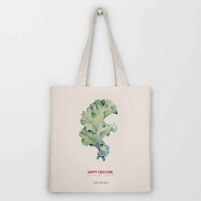 Tote bag coton bio happy crulture