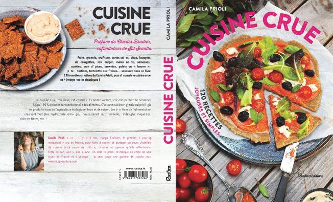 CUISINE_CRUE_Livre de Camila Prioli